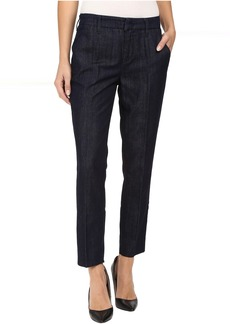 Level 99 Taylor Classic Straight Leg Trousers in Twilight