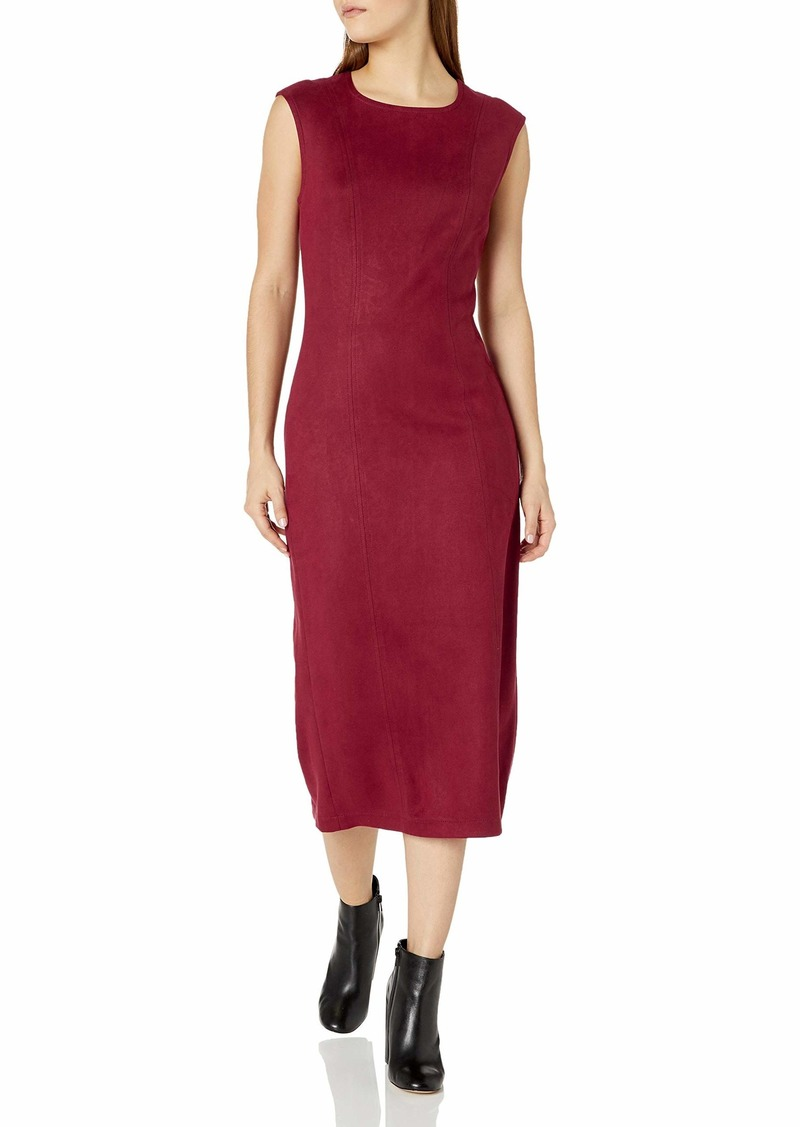 Level 99 Women's Kimi Seamed Suede Dress