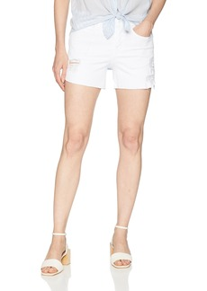 Level 99 Women's Mia Raw Hem BTN Fly Short