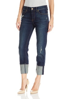 Level 99 Women's Morgan Cuffed Straight Leg Jean