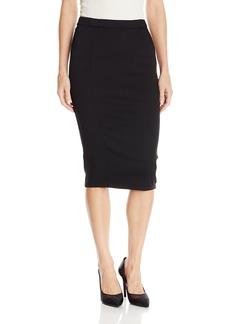Level 99 Women's Pepper Pencil Skirt FB Black