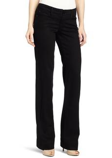 Level 99 Women's Sonya Wide Leg Black Flared Jean