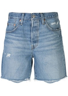Levi's 501 denim mid-thigh shorts