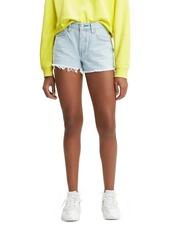 Levi's 501 Fray Hem Shorts