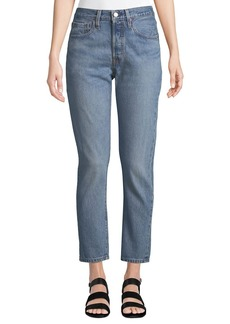 Levi's 501 High-Rise Ankle Skinny Jeans