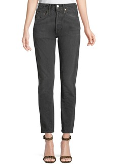 Levi's 501 High-Rise Skinny Ankle Jeans