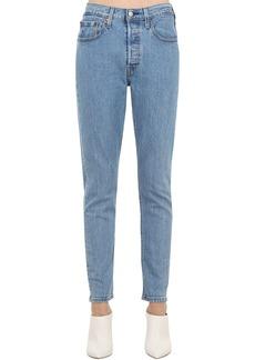 Levi's 501 High Rise Slim Jeans