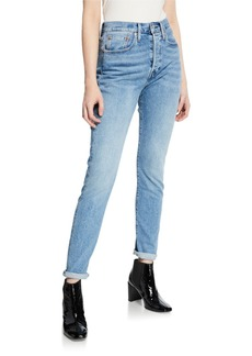 Levi's 501 Mid-Rise Stretch Skinny Jeans