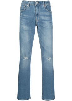 Levi's 511 mid-rise slim jeans