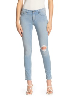 Levi's 711 Distressed Stretch Skinny Jeans
