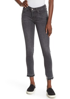 Levi's 711 Raw Hem Skinny Jeans
