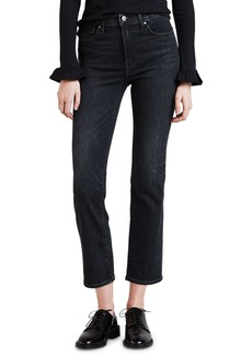 Levi's 724 High-Rise Cropped Straight-Leg Jeans