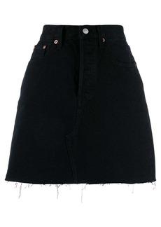 Levi's a-line denim skirt