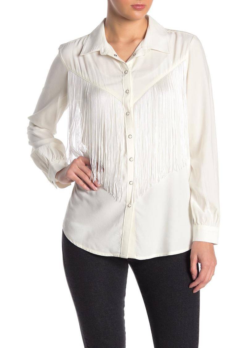 Levi's Annie Western Fringe Shirt