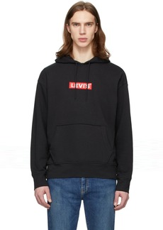 Levi's Black Graphic Pullover Hoodie