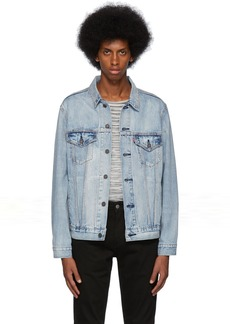 Levi's Blue Denim Vintage-Fit Trucker Jacket