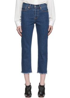 Levi's Blue Wedgie Jeans