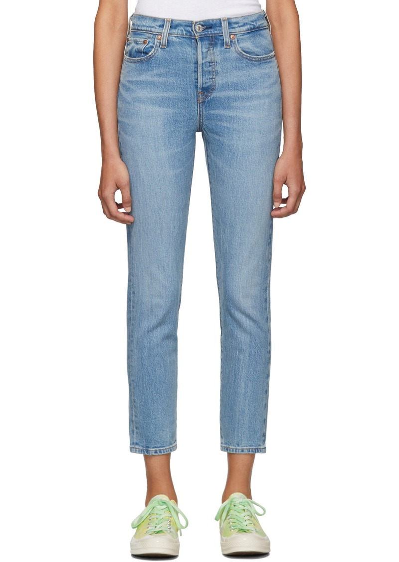 Levi's Blue Wedgie Jeans