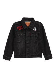 Boy's Levi's X Disney Mickey Mouse Denim Trucker Jacket