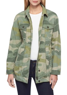 Levi's Camo Oversized Trucker Jacket
