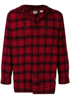 Levi's check printed loose shirt