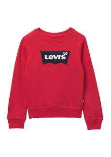 Levi's Chenille Batwing Sweatshirt (Toddler Girls)
