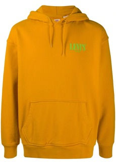 Levi's chest logo print hoodie