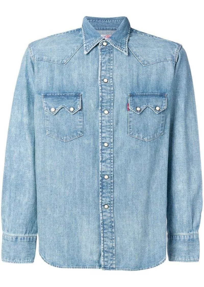 2a40d388848 Levi s chest pocket denim shirt