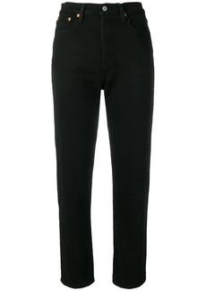 Levi's classic straight-cut jeans