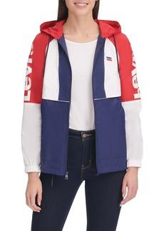 Levi's Colorblock Hooded Windbreaker Jacket