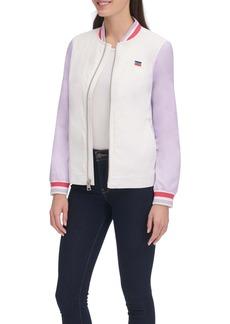 Levi's Colorblock Stripe Trim Bomber Jacket