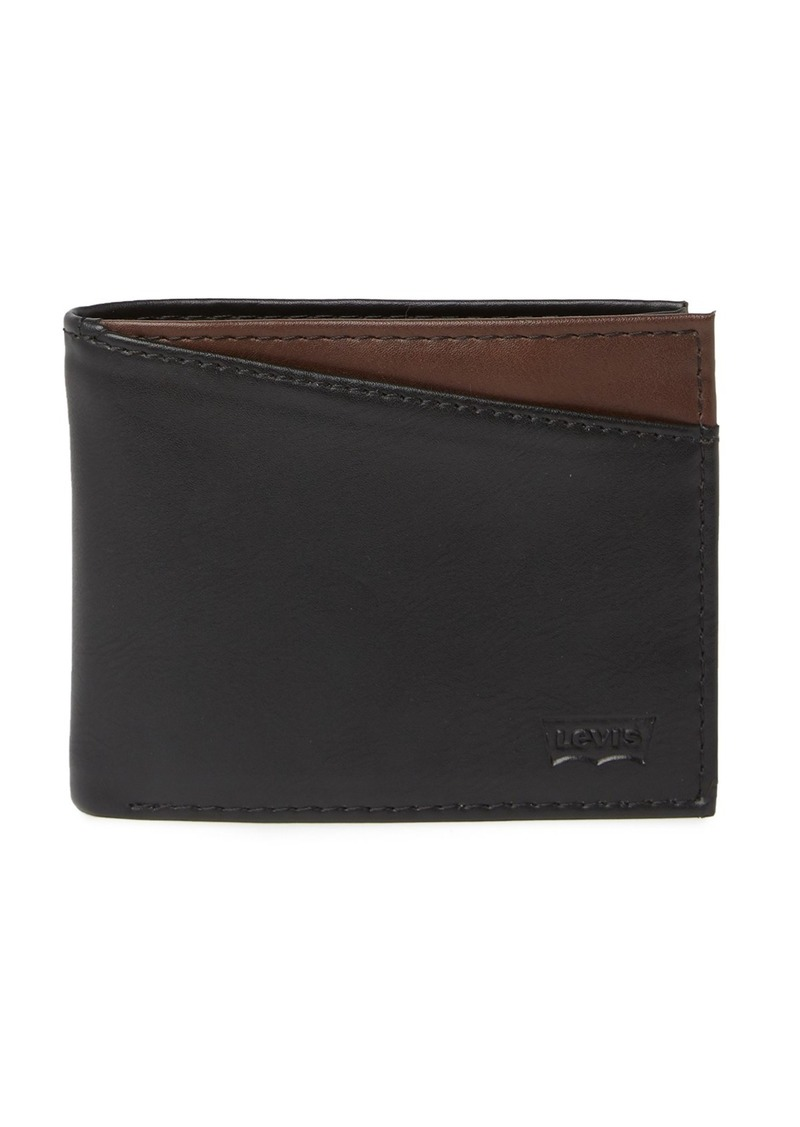fbf9765a5 Levi's Conner X-Capacity Slim-Fold Leather Wallet   Bags