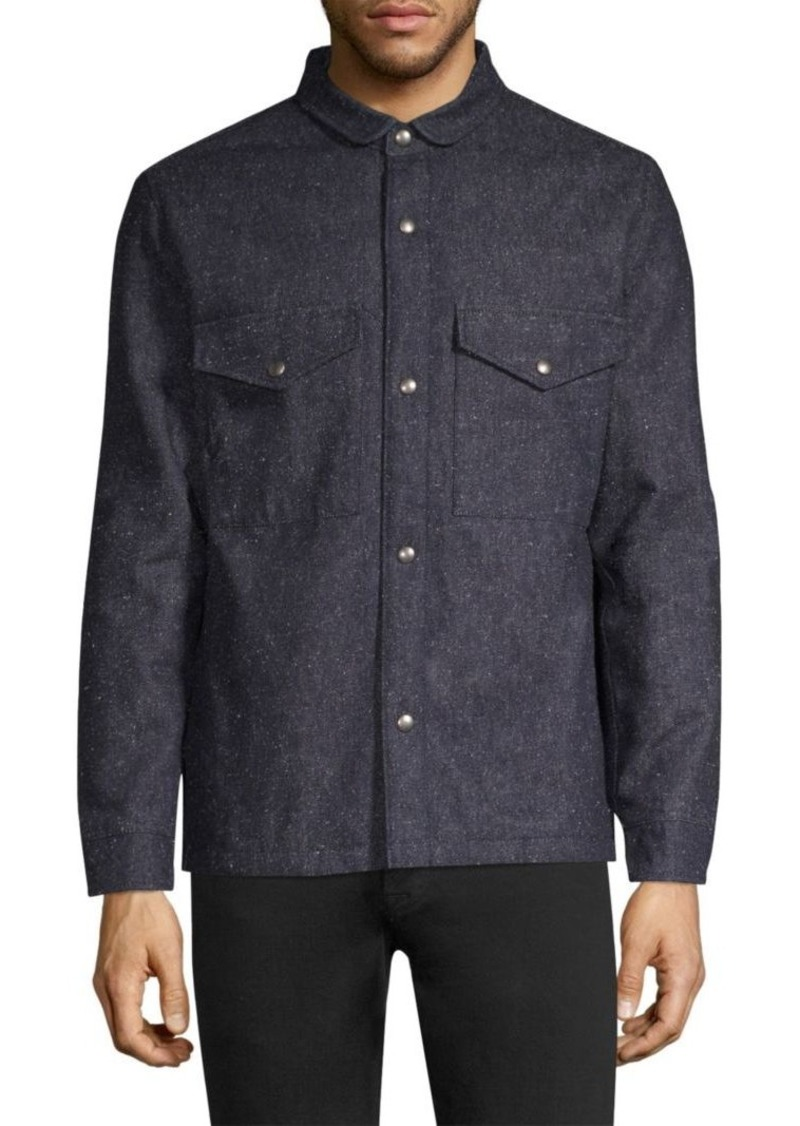 Levi's Cotton-Blend Shirt Jacket