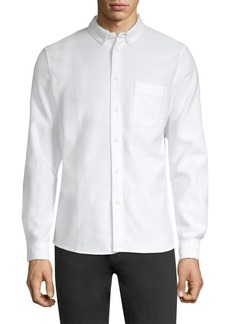 Levi's Cotton Jacquard Button-Down Shirt