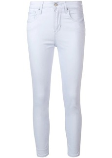 Levi's cropped skinny jeans