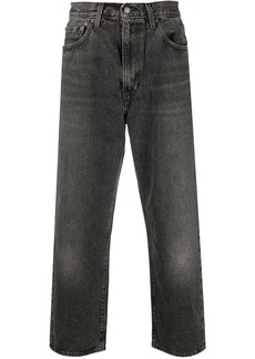 Levi's cropped straight-leg trousers