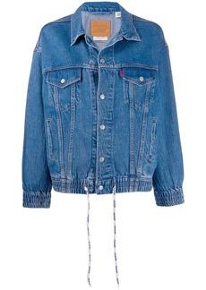 Levi's dad sports trucker jacket