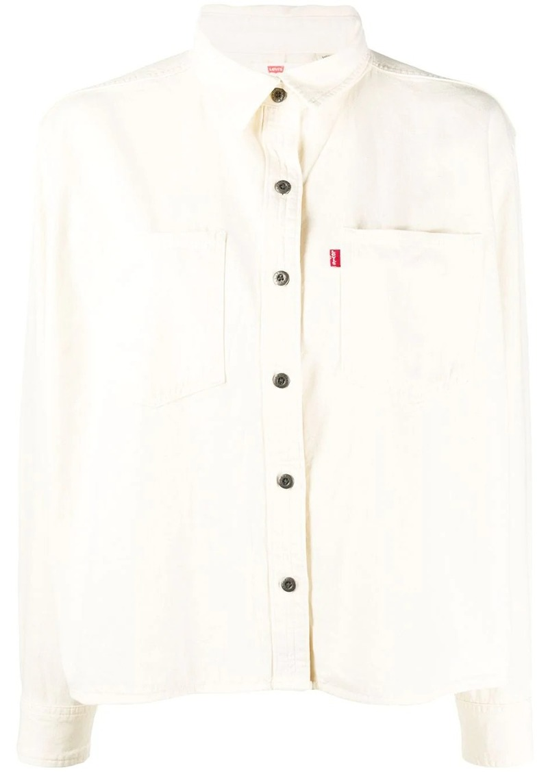 Levi's denim boxy-fit shirt