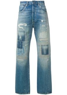 Levi's distressed jeans