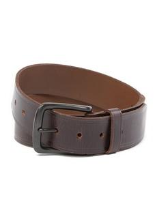 Levi's Elevated Creased Stitch Leather Belt