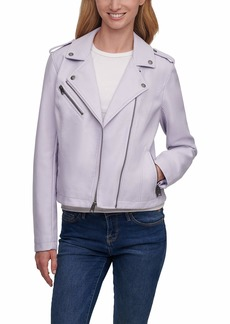 Levi's Faux Leather Classic Motorcycle Jacket (Regular and Plus Sizes)