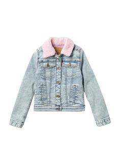 Levi's Faux Shearling Lined Trucker Jacket (Big Girls)