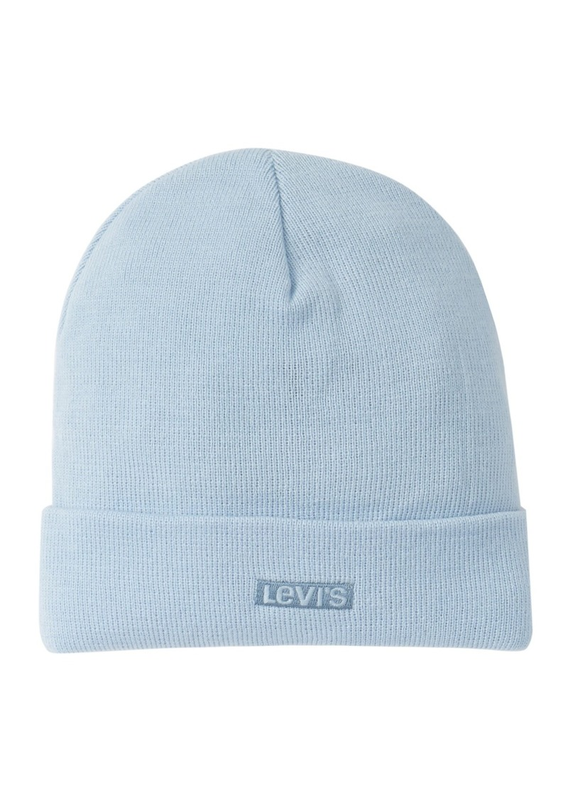 Levi's Flat Embroidered Tab Beanie