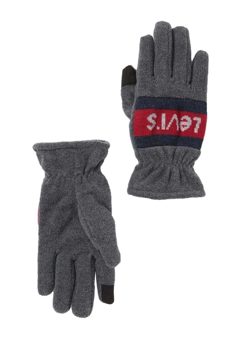 Levi's Fleece Logo Gloves