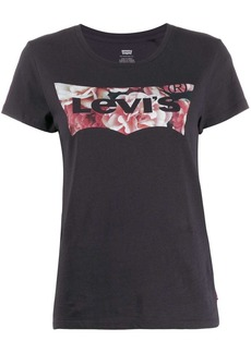 Levi's floral logo print T-shirt