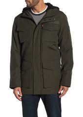 Levi's Hooded Drawcord Waist Parka Jacket