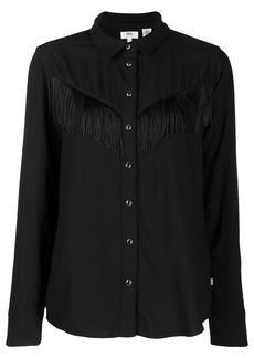 Levi's fringed shirt
