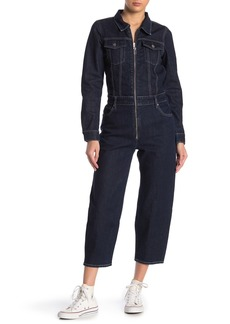 Levi's Front Zip Jean Jumpsuit
