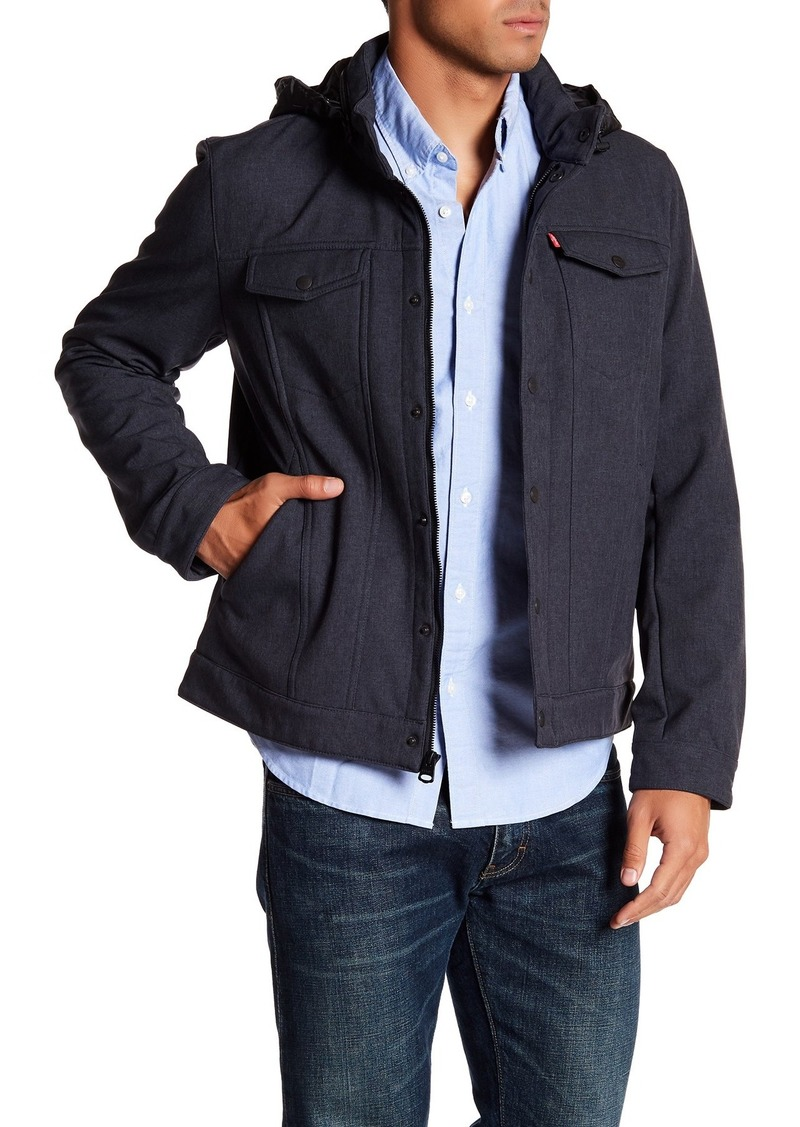 Levi's Funnel Neck Hooded Jacket