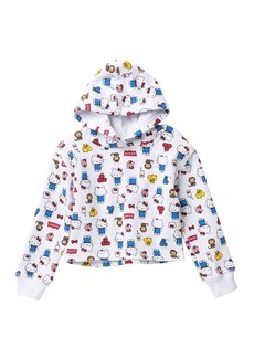 Levi's Hello Kitty Cropped Hoodie (Little Girls)
